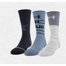 Boys UA Crew  3-Pack Socks