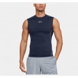 Mens UA HeatGear Armour Sleeveless Compression Shirt