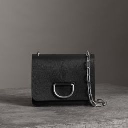 The Small Leather D-ring Bag