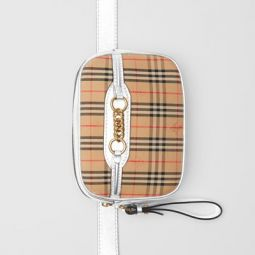 The 1983 Check Link Bum Bag with Leather Trim