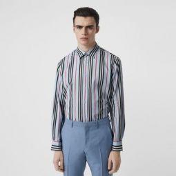 Icon Stripe Cotton Poplin Shirt