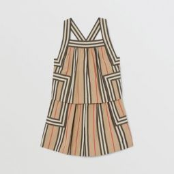 Icon Stripe Cotton Poplin Playsuit