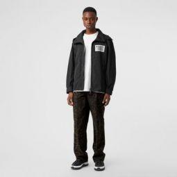 Detachable Hood Shape-memory Taffeta Jacket