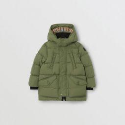 Detachable Hood Down-filled Puffer Coat