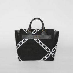 The Medium Knitted Link Belt Bag