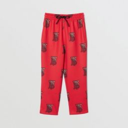 Monogram Motif Neoprene Trackpants