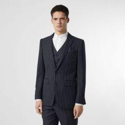 Pinstriped Wool Waistcoat