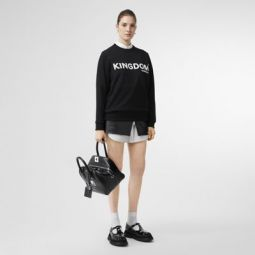 Kingdom Print Cotton Sweatshirt