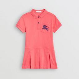 EKD Logo Cotton Polo Dress