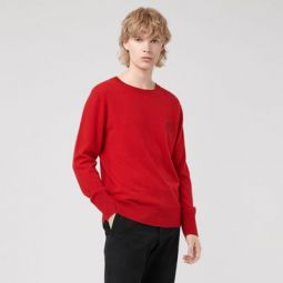 Embroidered Archive Logo Cashmere Sweater