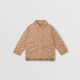 Lightweight Diamond Quilted Jacket
