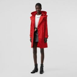 Detachable Hood ECONYL Trench Coat