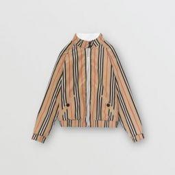 Reversible Icon Stripe Cotton Harrington Jacket