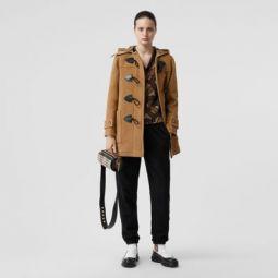 Wool Blend Duffle Coat