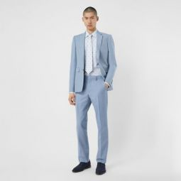 Classic Fit Wool Tailored Trousers
