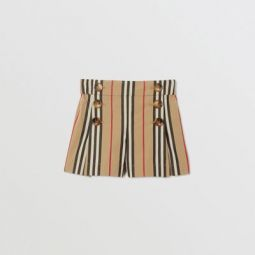 Icon Stripe Cotton Sailor Shorts