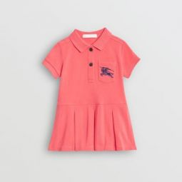 EKD Logo Cotton Polo Dress