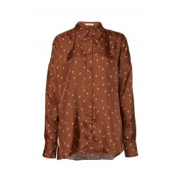Ant Polka Dot Silk Blouse