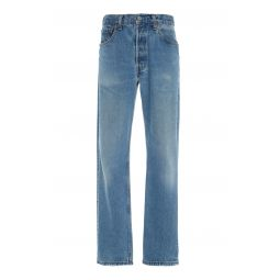 90s Mid-Rise Straight-Leg Jeans