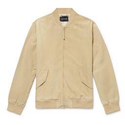 Shell Bomber Jacket