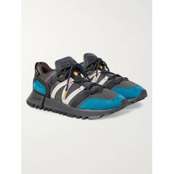 R_C4 Webbing and Nubuck-Trimmed CORDURA Tracefiber and Mesh Sneakers