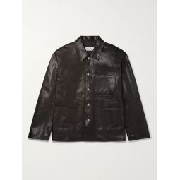 Full-Grain Leather Jacket