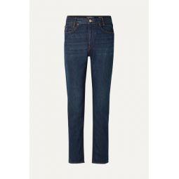 Original Academy high-rise straight-leg jeans