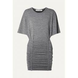 Speedy ruched stretch-jersey mini dress