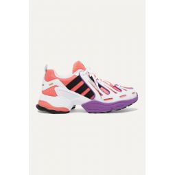 EQT Gazelle leather and mesh sneakers