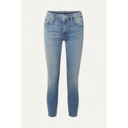 The Looker cropped high-rise skinny jeans