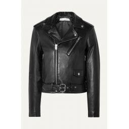 Viktor leather biker jacket