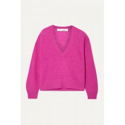 Ball knitted sweater