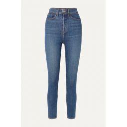 Originals Ultra High-Rise Ankle Crop skinny jeans
