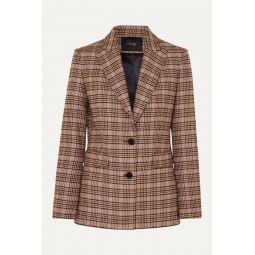 Valilo checked tweed blazer