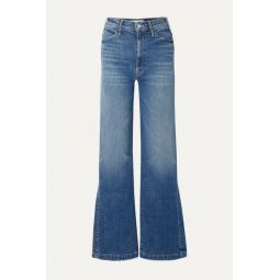 The Hustler Sidewinder high-rise wide-leg jeans