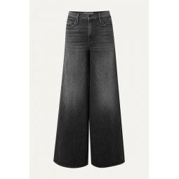 The Undercover high-rise wide-leg jeans