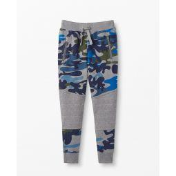 Double Knee Slim Sweatpants