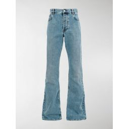 straight bootcut jeans