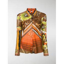 Caravan print shirt