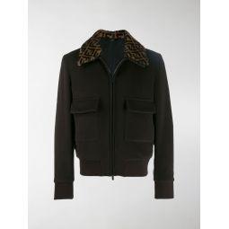 FF collar bomber jacket