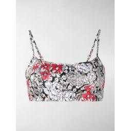 prentis floral bikini top