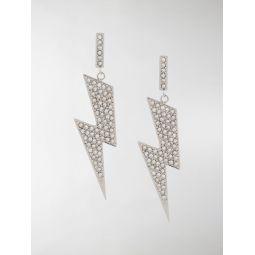 Flash embellished earrings