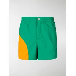 two tone swim shorts