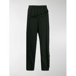 buckled strap trousers