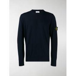 compass badge sweater