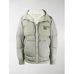 padded metallic jacket