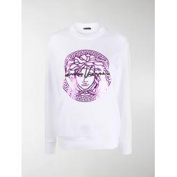 Medusa print sweatshirt