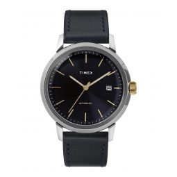 TImex Marlin Automatic 40mm Leather Strap Watch 40mm - Todd Snyder
