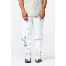 23 Engineered Fleece Pants in White