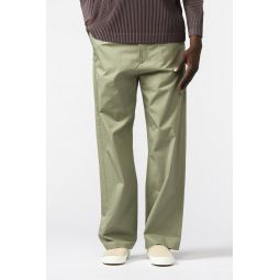 Trousers in Pale Green